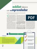 GPous - 2014-Octubre - PI - Checklist Básico del Emprendedor