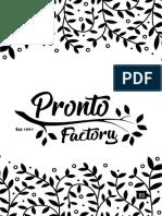 MENÚ PRONTO FACTORY