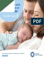 Preparación para los padres en el cuidado del recién nacido