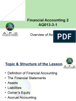 Chapter 1 - Overview of Accounting