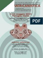 Programa Congreso Amerindiano 2015