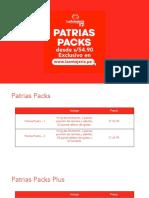 Patrias Packs 11.07.20 - LA