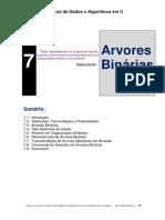 Capitulo 7-Arvores binárias