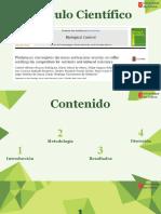 PHIALOMYCES MACROSPORUS DISMINUYE LA SEVERIDAD DE LA ANTRACNOSIS EN LAS PLÁNTULAS DE CAFÉ POR LA COMPETENCIA POR LOS NUTRIENTES Y LA RESISTENCIA INDUCIDA (1).pptx