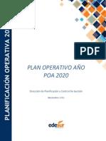 edesur-transparencia-plan-operativo-anual-2020-actualizado-12-03-2020