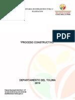Proceso constructivo placa huella