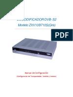DECODIFICADOR ZTE ZXV10 B710S -A31 Gris-convertido-convertido