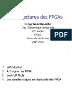 Architecture des FPGA