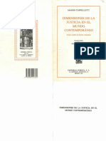 Cappelletti. Dimensione de la Justicia en el Mundo Contemporáneo. Porrúa. 1993..pdf