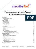 ENAC_Commonwealth and Accent Exams Instructions 20190907