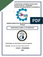 Monografia de Telemedicina-TICs