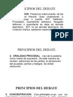 PRINCIPIOS DEL DEBATE guatemala