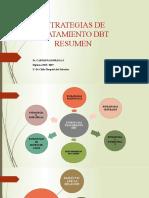 ESTRATEGIAS DE TRATAMIENTO DBT, RESUMEN 2018 2