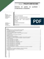 Sistemas de gestão da qualidade Fundamentos e vocabulário