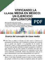 Cuantificando la clase media en México 2010