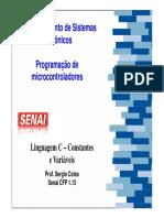 SELDI_aulas_03.LingC - Constantes e Variáveis - V2.ppt
