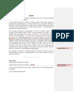 Javier Palmitesta - Texto explicativo - comentado