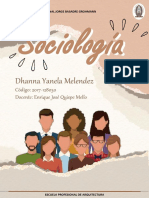 PRINCIPALES EXPONENTES DE LA SOCIOLOGIA 1 TAREA