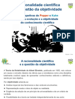 A racionalidade científica e a questão objetividade Poper e Kuhn.pptx