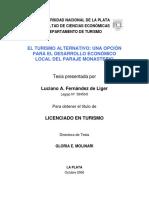Fernandez de Liger. El turismo alternativo_ una opción para el desarrollo económico local del Paraje Monasterio.pdf