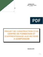 projet-centre-d-formation-et-d-apprentissage-burkina-faso