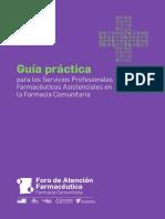 Guia practica para Servicios Farmaceuticos