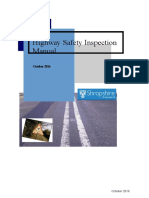 11 Appendix 1 Highway Safety Inspection Manual October 2016
