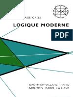 Grize, Jean-Blaise Grize (1971) - Logique moderne (I, II, III).pdf
