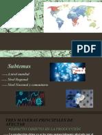 La economía de la postpandemia presentacion