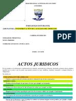 ACTOS JURIDICOS