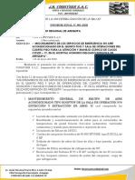 INF. AIRE ACONDICIONADO 5º PISO