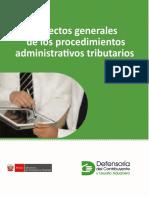 Aspectos generales del procedimiento tributario
