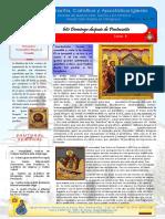 Boletin 93 Año II 6to Domingo Despues de Pentecostés