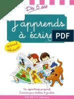 Hachette - J'Apprends a Ecrire CP