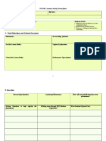 ngss blank lesson template