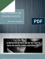 INCLUSIÓN DE ENUNCIADOS