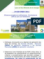 Fundamentos de la NOM-020-ENER-2011