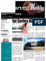 WHM Weekly Newsletter - 16 January 2011
