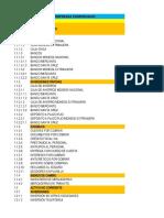 Comprobante de Diario - Plan de Cuentas