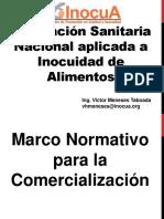 7 - REGULACION SANITARIA NACIONAL 2019-7- COMERCIALIZACION