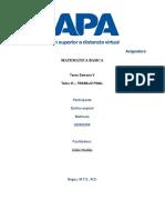Tema XI – TRABAJO FINAL matematica (2)