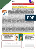 Guía Estudiante - 3° y 4° Secundaria Tutoría