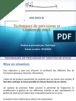 Techniques de prévision et Gestion de stock état d'avancement séance 1.pptx