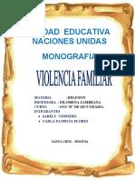 VIOLENCIA MONOGRAFIA
