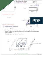 5-T.P n° 2 - CONTROLE DE PLANEITE