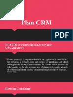 Como elaborar el plan CRM