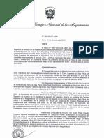 Resolución que incorpora a  Teódulo Santos al CNM
