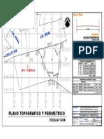 Plano Topografico y Perimetrico