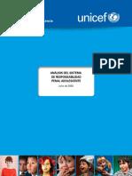 UNICEF Análisis Del Sistema de Responsabilidad Penal Adolescente - Julio 2020