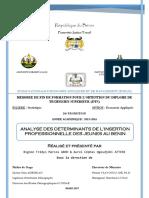 MEMOIRE MARCOS ABOH ET AUREL ATTERE_ANALYSE DES DETERMINANTS DE L_INSERTION PROFESSIONNELLE DES JEUNES AU BENIN